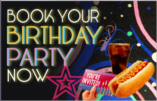 Book your birthday party now!