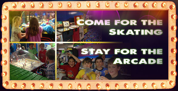 Come for the skating, stay for the arcade.